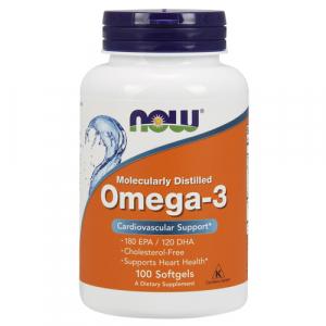 NOW Foods Омега-3, 1400 мг, 100 капсул - купить. цена, отзывы в интернет магазине ФитоМаркет