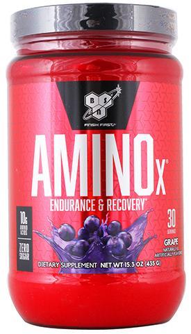 AMINO X, вкус виноград, 435 гр, BSN