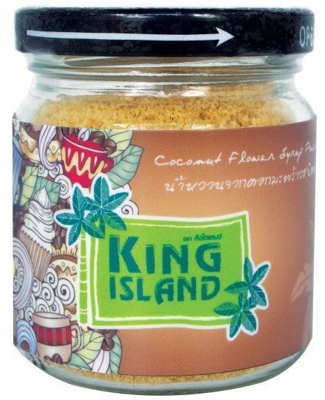 Кокосовый сахар, 100 гр, KING ISLAND фото