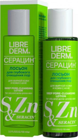 Лосьон для глубокого очищения пор «Серацин», 100 мл, LIBREDERM фото