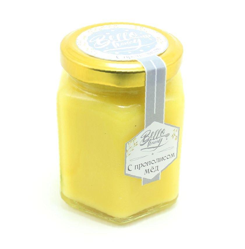 Мёд с прополисом, 200 мл, BelloHoney фото