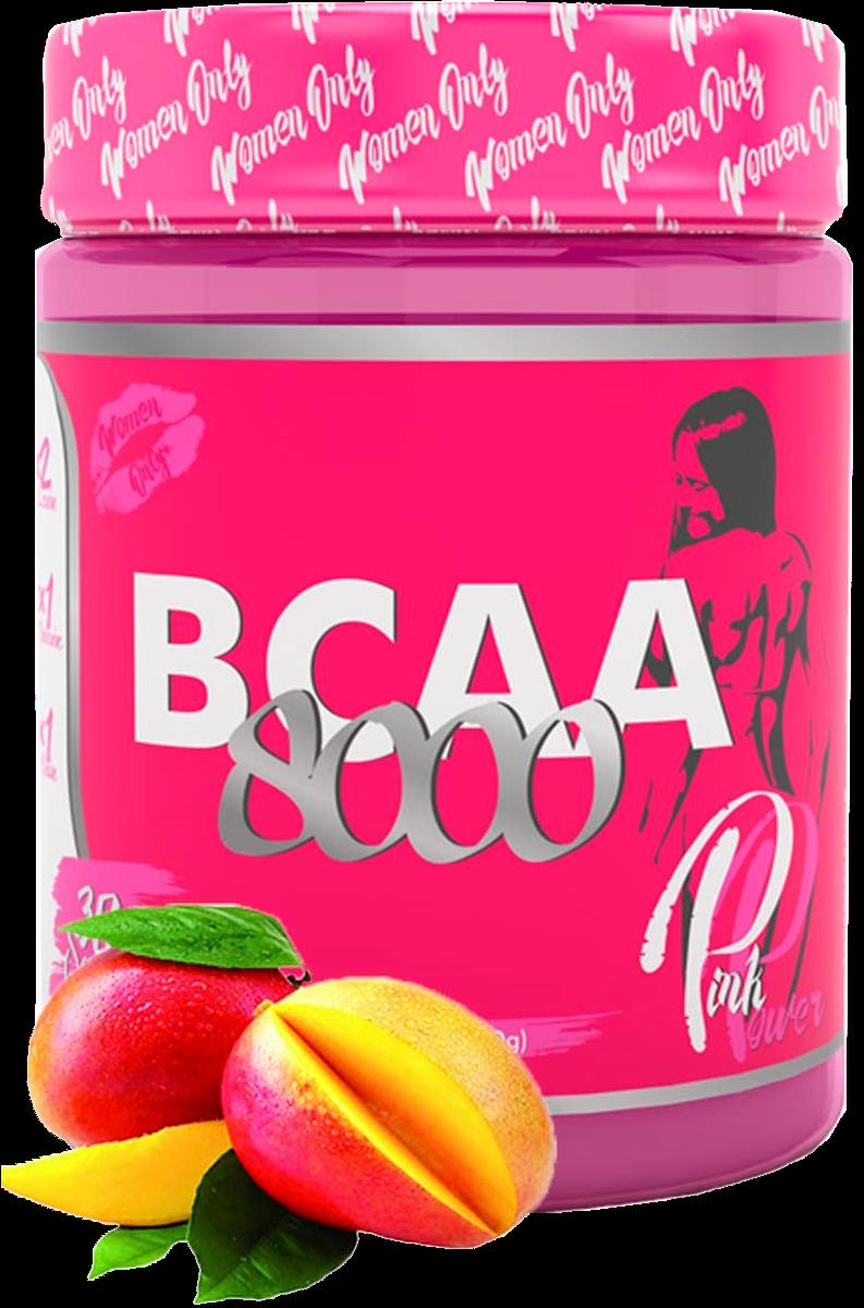 BCAA 8000, Манго, 300 гр, Pink Power фото