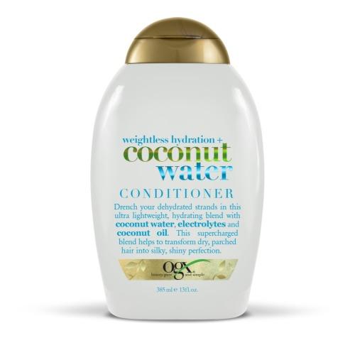 Кондиционер с кокосовой водой «Невесомое увлажнение», 385 мл, OGX фото