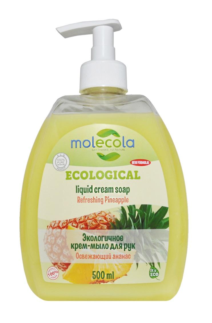 Жидкое мыло для рук «Освежающий ананас», 500 мл, Molecola фото