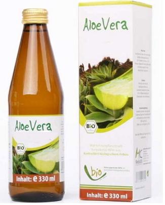 Сокосодержащий напиток Алоэ-Вера, 330 мл, Medicura фото