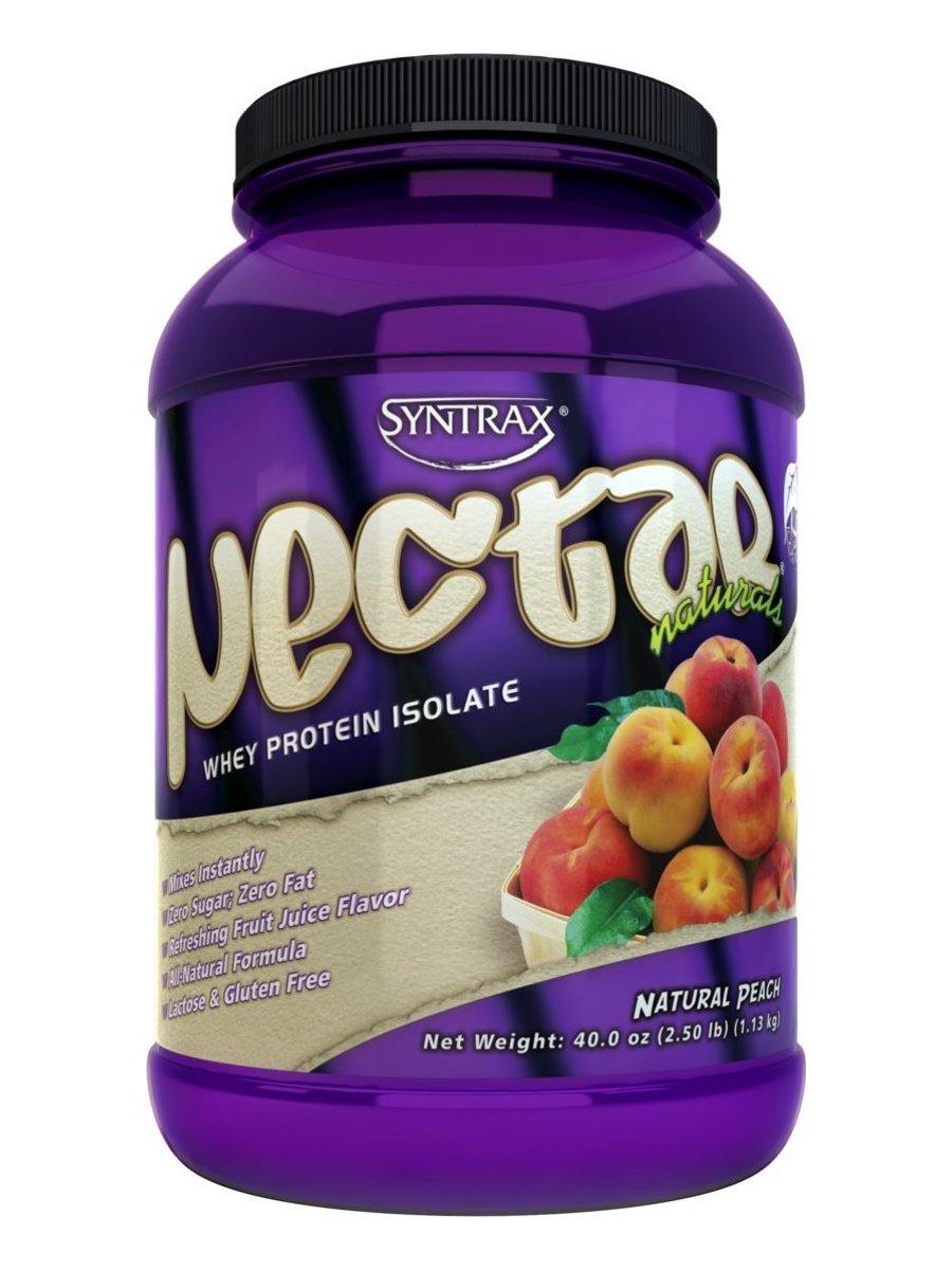 Сывороточный протеин Nectar Natural, вкус «Персик», 900 гр, SYNTRAX фото