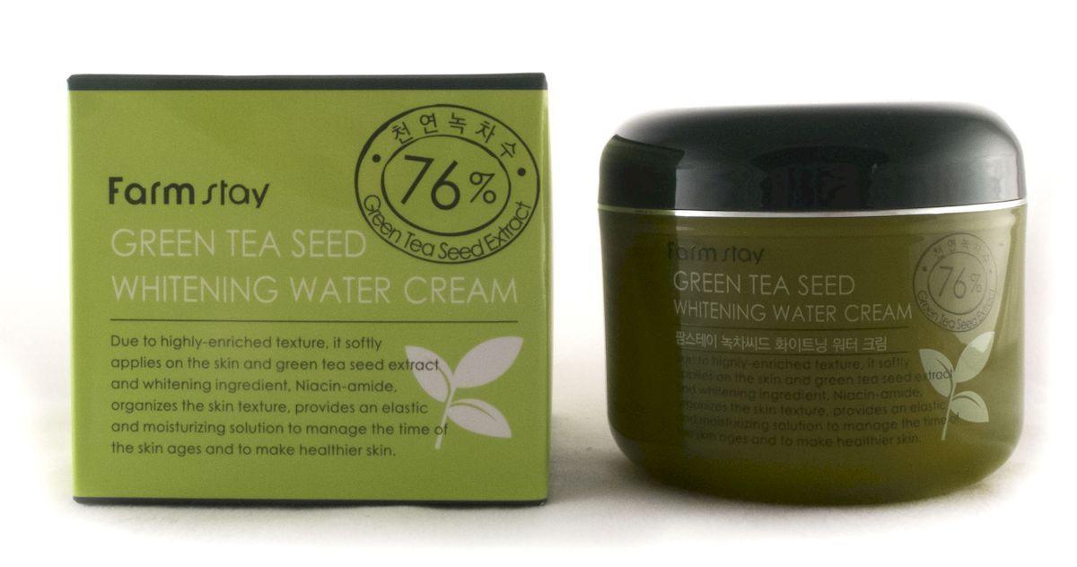 Увлажняющий крем с семенами зеленого чая, 100г, FarmStay фото