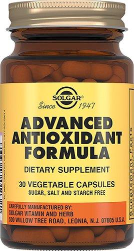 Антиоксидантная формула, 30 капсул, Solgar