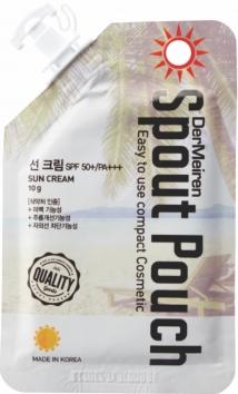 Солнцезащитный крем SPF50+/PA+++, 10 гр, DerMeiren фото