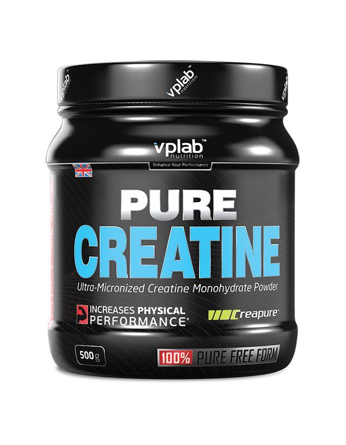 Креатин моногидрат Pure Creatine, 500 гр, VPLab