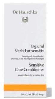 Восстанавливающий концентрат для чувствительной кожи (Tag und Nachtkur sensitiv), 10х1 мл, Dr.Hauschka фото