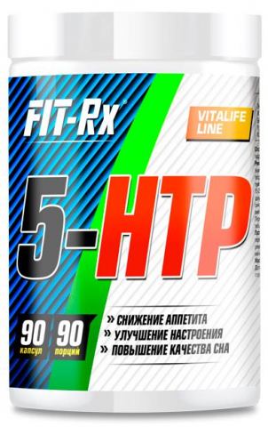 5-HTP, 90 капсул, Fit-Rx