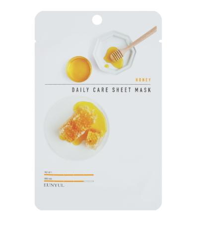 Тканевая маска для лица с экстрактом меда, 22 мл, EUNYUL фото