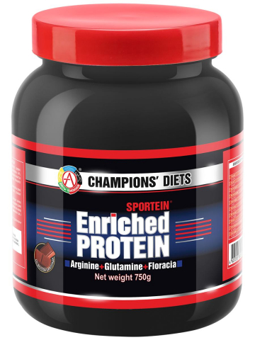 Протеин SPORTEIN Enriched PROTEIN, вкус шоколад, 750 г, Академия-Т